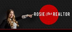 Customized Branding   Rosie the Realtor pointing to her name with a red circle gorgeous hair and blouse with a blazer   Facebook Timeline Header   Creative Portrait Ideas   Fun Business Photos   Custom Marketing Images   Utah Portrait Photography   Business Professionals   Dress to Impress   What to Wear for Headshots   Out of the Box   Salt Lake City   Utah   Small Business Marketing Ideas   LinkedIn Profile Pictures   Purple Moss Photography   SLC