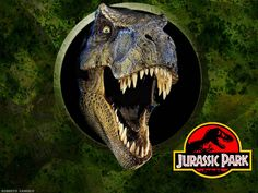 """dinosaur chase scenes from the """"Jurassic Park"""" series? Scientists have now reconstructed in a real dinosaur chase that happened more than 100 million years ago. T Rex Jurassic Park, Jurassic World Dinosaurs, Jurassic Park World, Jurassic Movies, Wallpaper Pictures, Wallpaper Backgrounds, Laptop Backgrounds, Laptop Wallpaper, Wallpapers"""