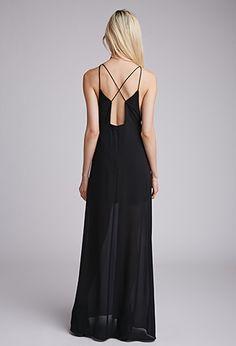 Strappy Chiffon Maxi Dress | Forever 21 - 2000132564