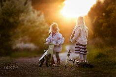 """the girls and their bikes - if you want to see more work come to: <a href=""""https://www.facebook.com/igrudzien?ref=hl"""">Facebook</a> 