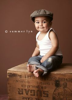 Ideas for 1 year old shoot