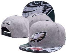 Philadelphia Eagles Gray Snapback Hats Big Log Brim Crack Pattern cheap for  sale f50d4dc79156