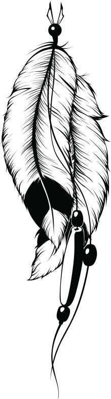 Indian feathers Feather Stencil, Feather Drawing, Feather Tattoo Design, Feather Art, Indian Feather Tattoos, Indian Feathers, Tattoo Sketches, Tattoo Drawings, Motifs Aztèques