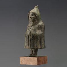 Bronze Figure of Silenus, Roman Imperial Period : 1st century B.C.- 1st century A.D.