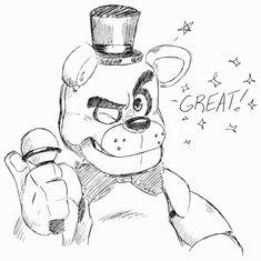 Todos juntos com o Freddy