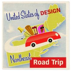 United States of Design Road Trips: A Northeastern Route — American Style