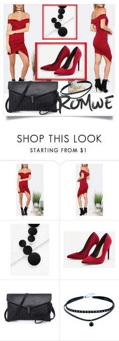 """ROMWE 7/10"" by betty-boop23 ❤ liked on Polyvore featuring romwe"