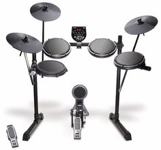 Alesis DM6 USB Kit Eight-Piece Compact Beginner Electronic Drum Set with 8 Snare, 8 Toms, & 12 Cymbals