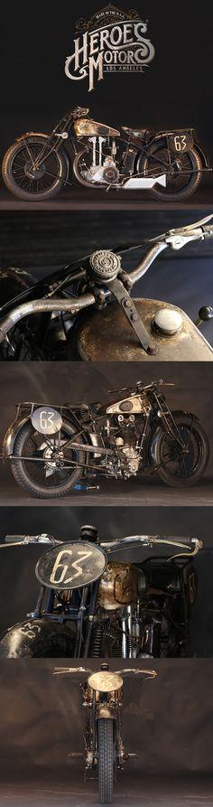 1929 GILLET HERSTAL 500 SUPERSPORT
