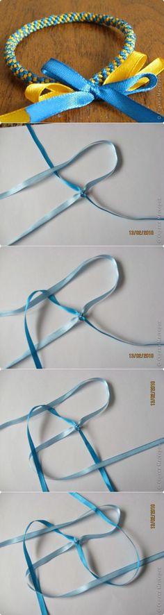Плетение - фенечки из лент МК