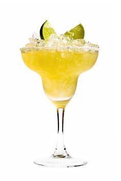 Carmelized Pineapple Margarita: 2 oz Perfect Puree Carmelized Pineapple Concentrate thawed, 1 1/2 oz 100% Agave Anejo Tequila, Juice of 1 lime