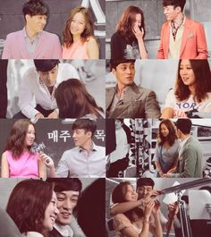 So Ji Sub + Gong Hyo Jin...How adorable they are!