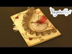Scrapbooking tutorial - kartka wielkanocna z jajkiem