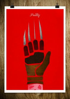 Berlin-based graphic artist Rocco Malatesta has created a series of posters depicting just the hands of popular figures like sportsmen.    Freddy