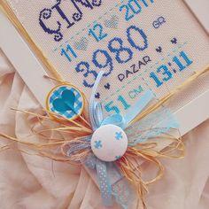 İlkdesign ürünlerinin sahibi canım İlknur ♥  kardeşine sürpriz istedi doğum panosunu , yeğeni Çınar için ♥ bende gizli...