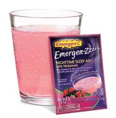 FREE Sample of Emergen-C Emergen-Zzzz Drink Mix