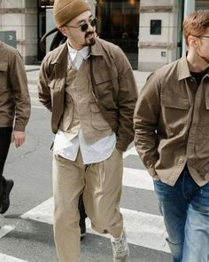 New fashion clothes men denim jackets ideas fashion is part of Mens clothing styles - New Fashion Clothes, Fashion Outfits, Workwear Fashion, Mens Fashion, Denim Jacket Men, Denim Jackets, Look Man, Military Fashion, Military Inspired Fashion