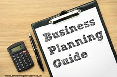 Business planning guide for small businesses