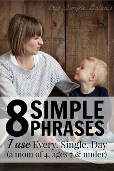 Are you looking for discipline alternatives to spanking but don't know what else to do? These 8 simple phrases get you started by giving you tools to address some of the most common behavior issues in early childhood.