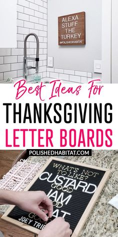 Memory Foam Mattress - Need To I Receive A Tender Or Firm Mattress? Thanksgiving Letter Board Ideas - Need A Good Saying Or Quote For Your Letter Board This Thanksgiving? This Post Has Both Funny And Inspirational Ideas Thanksgiving Letter, Thanksgiving Quotes, Thanksgiving Crafts, Thanksgiving Decorations, Diy Letters, Letter A Crafts, Wood Letters, Felt Letter Board, Container Organization
