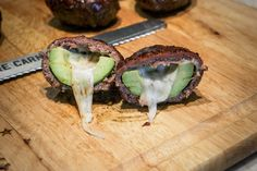 Cheese Stuffed Smoked Avocado 'Bombs' on Jess Pryles Pellet Grill Recipes, Smoker Recipes, Weber Recipes, Brisket Burnt Ends, Sweet Tea Vodka, Sausage Seasoning, Teriyaki Glaze, Bbq Brisket, Beef Bacon