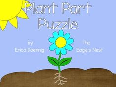 Spring has sprung!  A freebie puzzle for your science center!