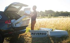 Stowing a Reverso Boat in an SUV