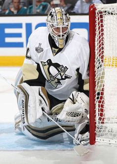 UNE 06: Goaltender Matt Murray #30 of the Pittsburgh Penguins defends the left post during the second period of Game Four of 2016 NHL Stanley Cup Final against the San Jose Sharks at SAP Center