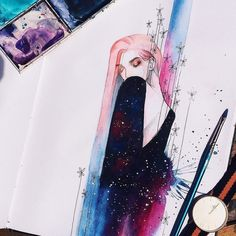 """Art by @kelogsloops #art_we_inspire #illustration #graphics"""