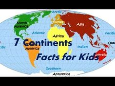 Video about Seven Continents and interesting facts about them. For Intro to Geography Week, Expedition Earth with P4/5.