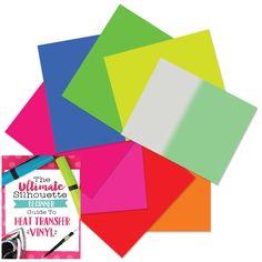 Siser EasyWeed Heat Transfer Fluorescent Vinyl Bundle