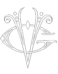Broderie D'Antan: Embroidery Patterns (Several Monograms)