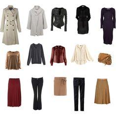 winter capsule wardrobe #fashion