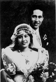 1920's Philippine wedding.
