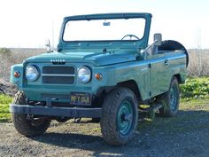 Bid for the chance to own a Black-Plate 1964 Nissan Patrol at auction with Bring a Trailer, the home of the best vintage and classic cars online. Nissan Patrol, Nissan Trucks, Nissan 4x4, Expensive Sports Cars, Datsun Car, Car Racer, 1964 Ford, New Sports Cars, Show Trucks