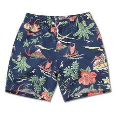 e604b295bf Board shorts men swimming trunks sexy print flowers mens swimwear beach  surfing gym running short joggers bermudas masculina