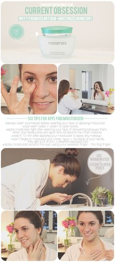 6 things to think about when applying moisturizer!