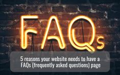 5 reasons your website must have a great FAQ's page - hellomedia What If Questions, This Or That Questions, Medium Blog, All The Feels, Your Website, Seo Strategy, Interesting Information, Target Audience, Question And Answer
