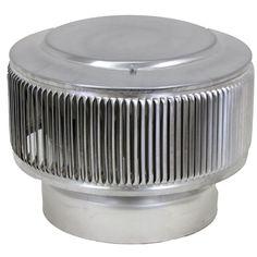 Active Ventilation 4 In Dia Aura Pvc Vent Cap Exhaust
