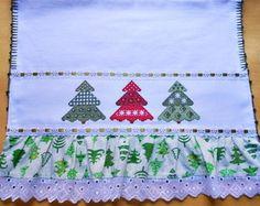 Pano de Prato-Natal Árvores 1-Ref.067