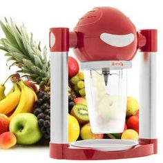 Smoothie recept regrat z grškim jogurtom Smoothie Express, Smoothie Makers, Blender, Mixers, Popcorn Maker, How To Lose Weight Fast, Body Care, Kitchen Appliances, Food