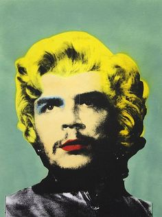 Che Gueverra as Marilyn, by Mr. Brainwash, Pop Art.
