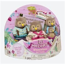 Li'l Woodzeez Whoo's Whoo's Owl Family - J or R (I think Edie will love these even more than dolls!)