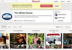 looks like the US Gov't will be posting on  Pinterest!