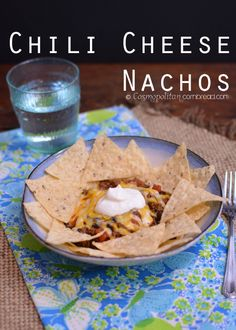 Chili Cheese Nachoes