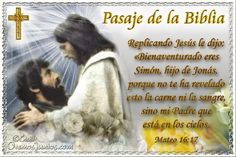 Vidas Santas: Santo Evangelio según san Mateo 16:17