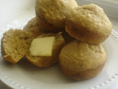 banana oat muffins 010