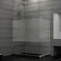 "DreamLine Unidoor Plus 34"" W x 38"" D Hinged Shower Enclosure"