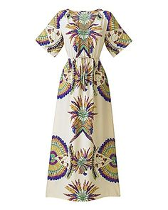 Print Kaftan Maxi Dress | Marisota