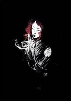 Liz Sherman of BPRD by Robbi Rodriguez by AshcanAllstars.deviantart.com on @deviantART